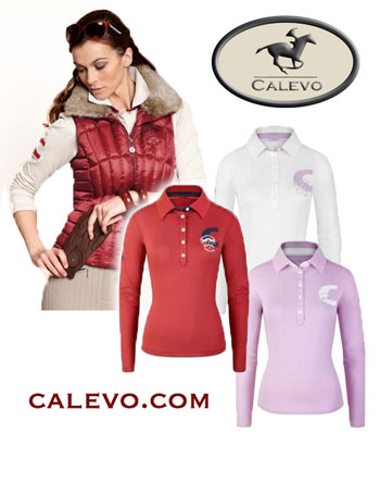 Cavallo - Damen Langarm Polo PENELOPE