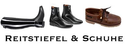 Reitstiefel und Schuhe