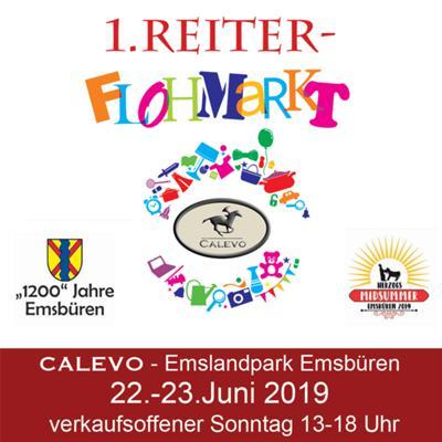Stellplatz Reiterflohmarkt 22.-23.Juni - 1200 Jahre Emsb�ren CALEVO.com Shop
