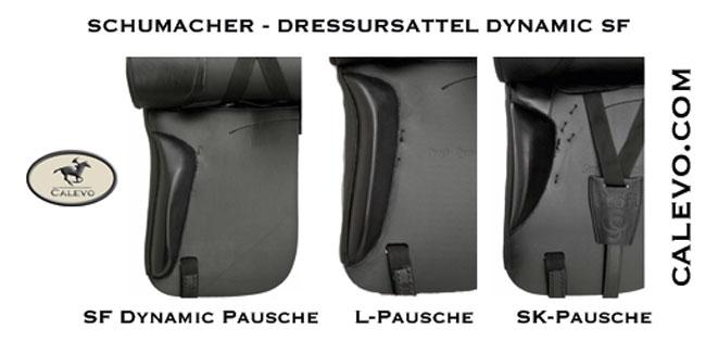 Schumacher - Dressursattel Dynamic SF