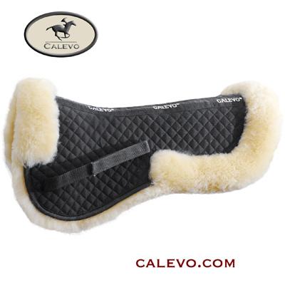 CALEVO - Sattelkissen aus Lammfell mit Fellrand COMFORT PLUS CALEVO.com Shop