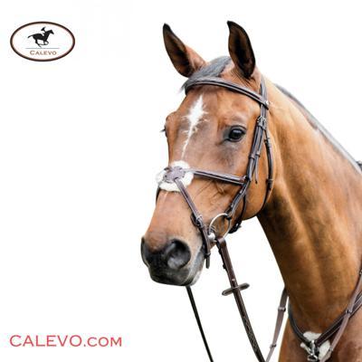 Prestige - Mexikanische Trense mit Ziernähten E80 CALEVO.com Shop