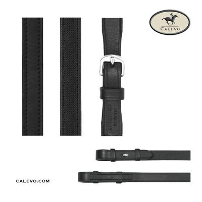 Passier - glatter Lederzügel, einseitig gummiert -- CALEVO.com Shop