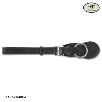 Leder-Sattelgurtschlaufe mit Ring CALEVO.com Shop