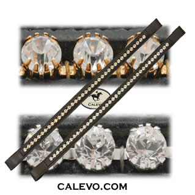 Schumacher - Stirnband mit Kristallen silber/gold eingefasst -- CALEVO.com Shop