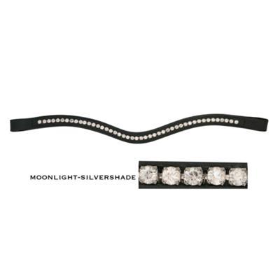 Schumacher - geschwungenes Stirnband m. Kristallen 2-Colored -- CALEVO.com Shop