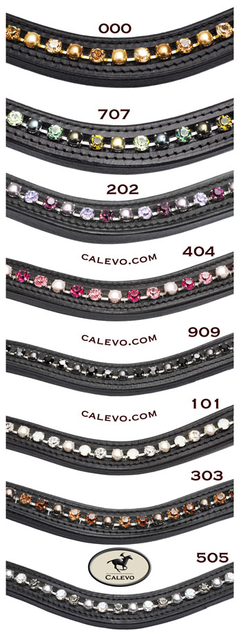 Schumacher - geschwungenes Stirnband Crystal-Pearl -- CALEVO.com Shop