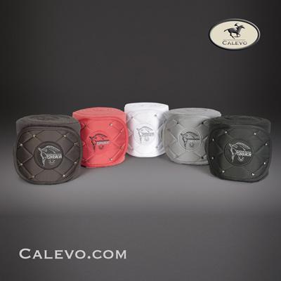 Eskadron - Fleecebandagen CRYSTAL - PLATINUM CALEVO.com Shop