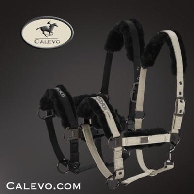 Eskadron - Halfter GLOSSY FAUX FUR - PLATINUM -- CALEVO.com Shop