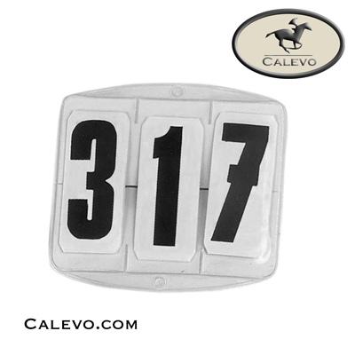 Kopfnummern mit Klettverschluss - Startnummer CALEVO.com Shop