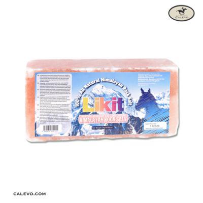 LIKIT Leckstein Himalaya Salze, rechteckig 2kg CALEVO.com Shop