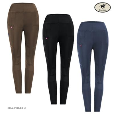 Cavallo - Kids Winter Leggings LIN GRIP RL - WINTER 2020 CALEVO.com Shop