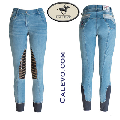 Eurostar Easy-Rider Damen Jeanshose RYANNE Denim Knee GRIP CALEVO.com Shop