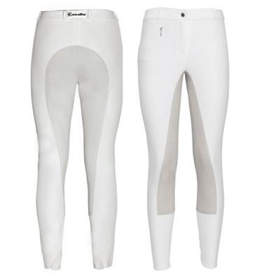Cavallo - Damen Baumwoll Reithose mit Gesässbesatz CHAMPION -- CALEVO.com Shop