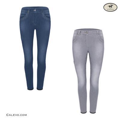 Cavallo - Damen Jeans-Reithose CARA GRIP MOBIL - SUMMER 2021 CALEVO.com Shop