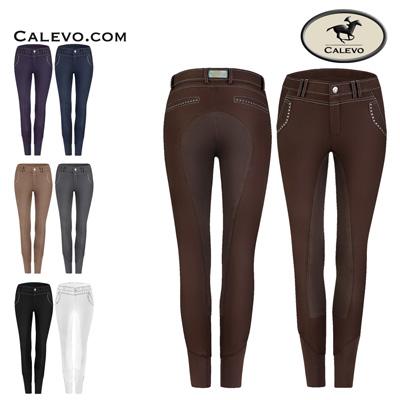 Cavallo - Damen Reithose mit Ges�ssbesatz CAMERON CALEVO.com Shop