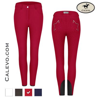 Cavallo - Damen Vollbesatz Reithose CLEO GRIP ART CALEVO.com Shop