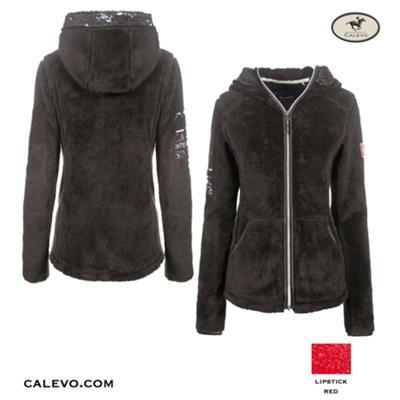 Cavallo - Damen Langhaar-Fleecejacke LANKA CALEVO.com Shop