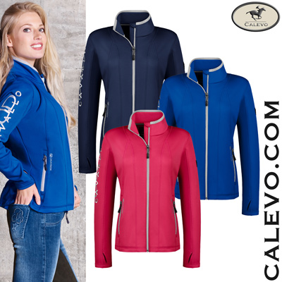 Cavallo - Damen Stretch Fleece Jacke IVY CALEVO.com Shop