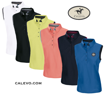 Pikeur - Damen Sleeveless Funktions Polo JARLA CALEVO.com Shop