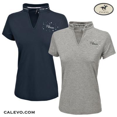 Pikeur - Damen V-Neck Polo Shirt NOELIA - SUMMER 2019 CALEVO.com Shop