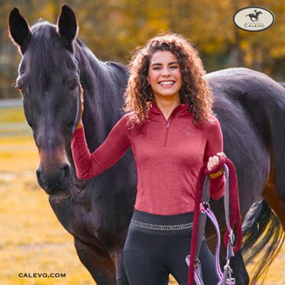 ELT- Damen Funktions Zip Shirt CHESTER - WINTER 2020 CALEVO.com Shop