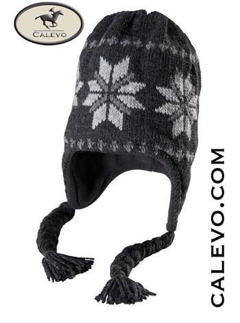 Pikeur - Strickmütze mit Schneeflocke CALEVO.com Shop