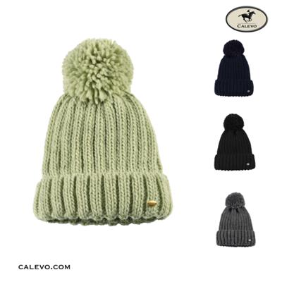Pikeur - Strickm�tze mit Wollbommel - WINTER 2020 CALEVO.com Shop