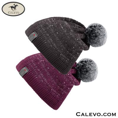 Cavallo - Pailletten-Strickm�tze JULIETTA CALEVO.com Shop