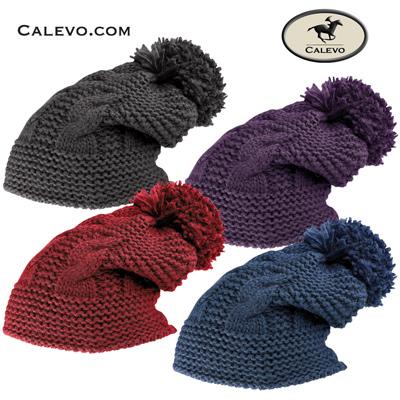 Cavallo - Strickm�tze mit Bommel DARCY CALEVO.com Shop