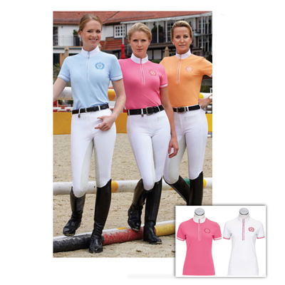 Pikeur - Damen Turniershirt mit Zipper CALEVO.com Shop