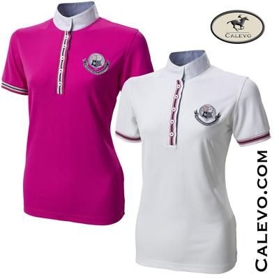 Pikeur - Damen Turniershirt mit 1/2 Arm u.Streifenkontrasten CALEVO.com Shop