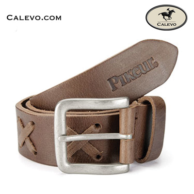 Pikeur - Modischer Leder G�rtel mit Kreuzsteppung -- CALEVO.com Shop