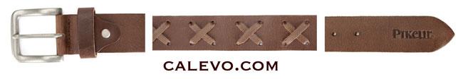 Pikeur - Modischer Leder G�rtel mit Kreuzsteppung