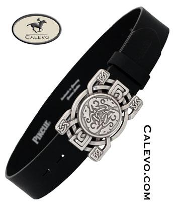 Pikeur - Modischer Lederg�rtel mit grosser Koppelschliesse -- CALEVO.com Shop
