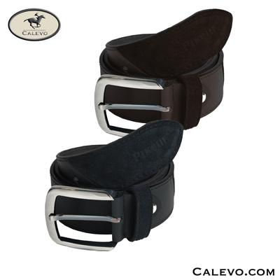 Pikeur - Ledergürtel mit mattierter Schnalle CALEVO.com Shop