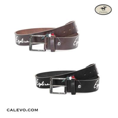 Equiline - Leder G�rtel LOGFIL CALEVO.com Shop