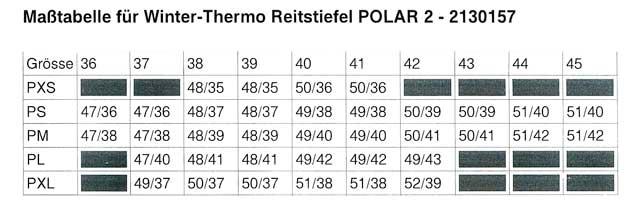 Cavallo - Winter Reitstiefel mit Lammfell Futter Polar 2