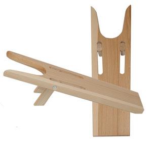 Stiefelknecht aus Holz, klappbar CALEVO.com Shop