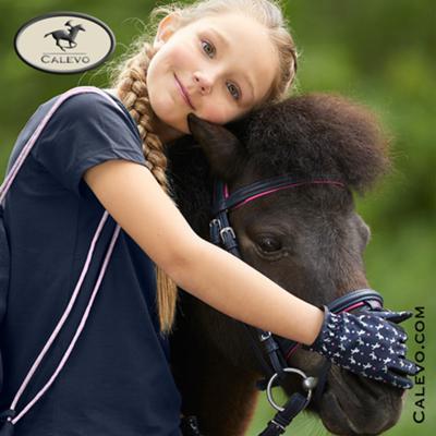 ELT - Kinder Reithandschuhe PINK HEARTS - SUMMER 2020 CALEVO.com Shop