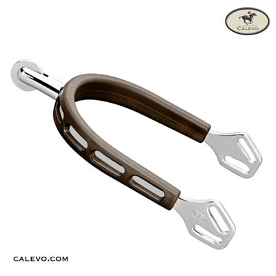 Sprenger - Sporen m. kleinem Ballrad ULTRA FIT BROWN GRIP CALEVO.com Shop