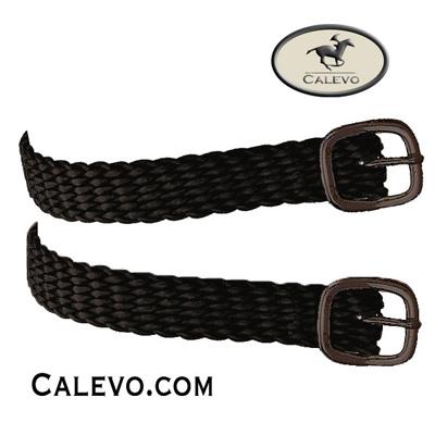 Sprenger - Perlon-Sporenriemen mit schwarzer Schnalle CALEVO.com Shop