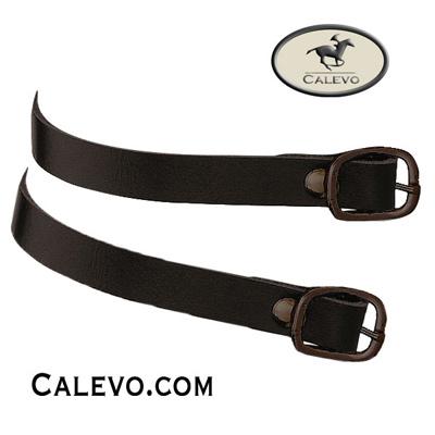 Sprenger - Leder-Sporenriemen mit schwarzer Schnalle CALEVO.com Shop