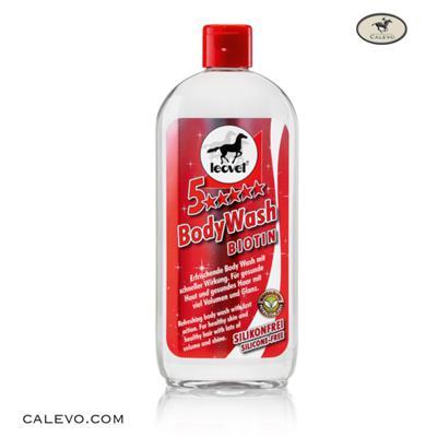Leovet - 5 STERNE Body Wash BIOTIN CALEVO.com Shop