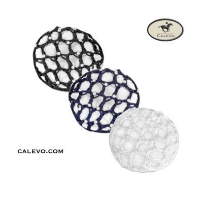 Knoten Haarnetz mit Perlen CALEVO.com Shop