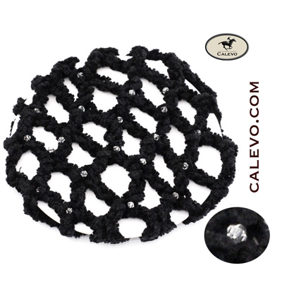 Knoten Netz mit Strass-Steinchen CALEVO.com Shop