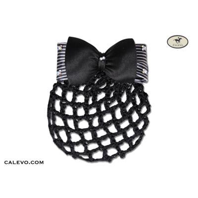 Edle Haar Spange mit Zierschleife und Knotenhaarnetz CALEVO.com Shop