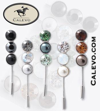 Schumacher - Plastronnadel Crystal-Pearl CALEVO.com Shop