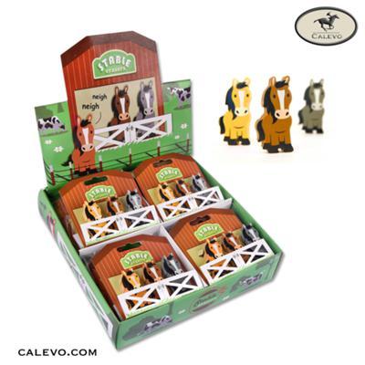 Niedliche Pferde Radiergummis im 3er Set CALEVO.com Shop
