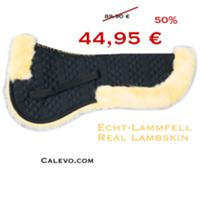 CALEVO Lammfell-Sattelkissen m.Fellrand - NATURAL EDITION CALEVO.com Shop